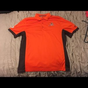 Cleveland Browns Nike Polo